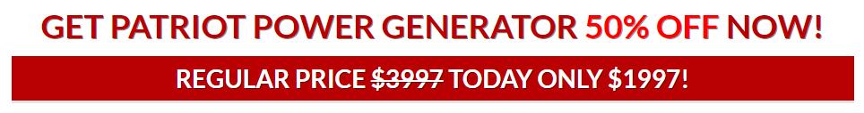 Patriot Power Generator Review