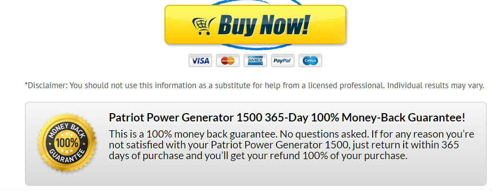 Patriot Power Generator Review