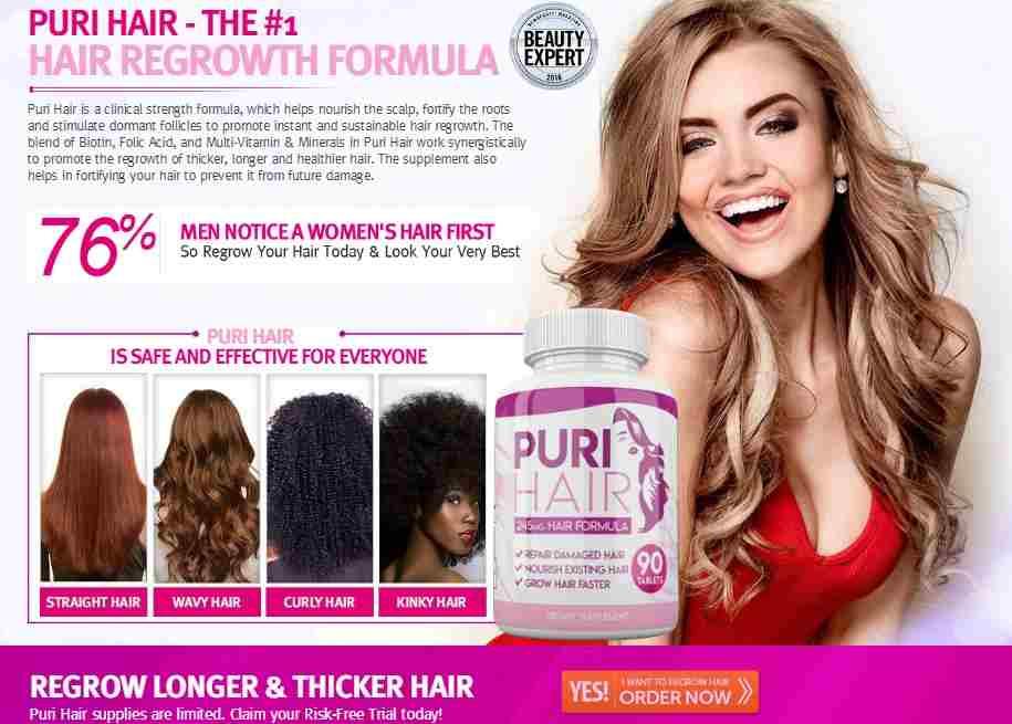 Puri Hair Reviews : 2020 Best Hair Regrowth Treatment For Women