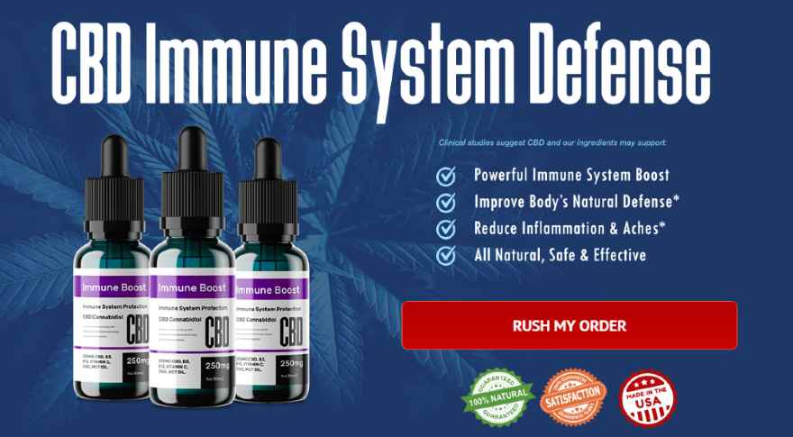 cbd immune booster- How To Boost Your Immune System During Coronavirus Pandemic