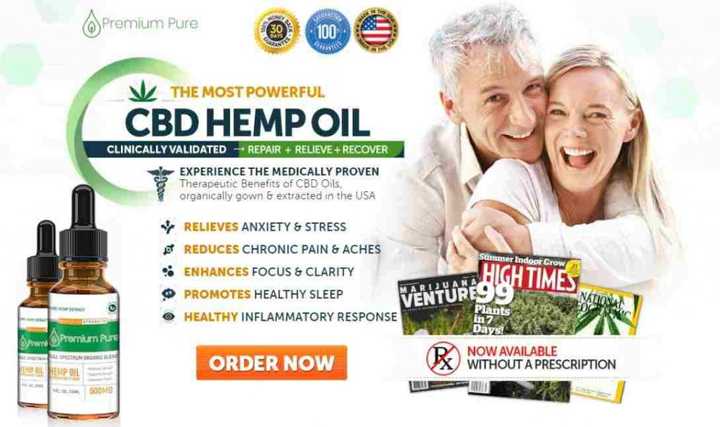 Premium Pure CBD Oil : Hemp Oil For Pain & Anxiety, Update 2020