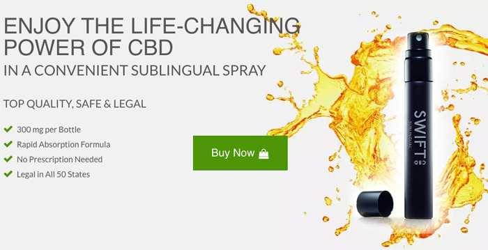 Swift CBD Oral Spray : Best CBD Oral Spray for Anxiety, Pain & Depression